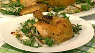 Roasted Chicken with Lemon and Onion