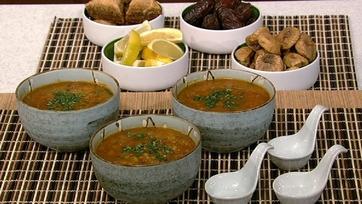 Lynne Rossetto Kasper\'s Moroccan Harira Red Lentil Soup