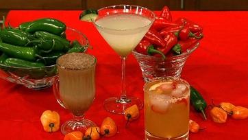 Clinton Kelly\'s Cucumber Wasabi Martini