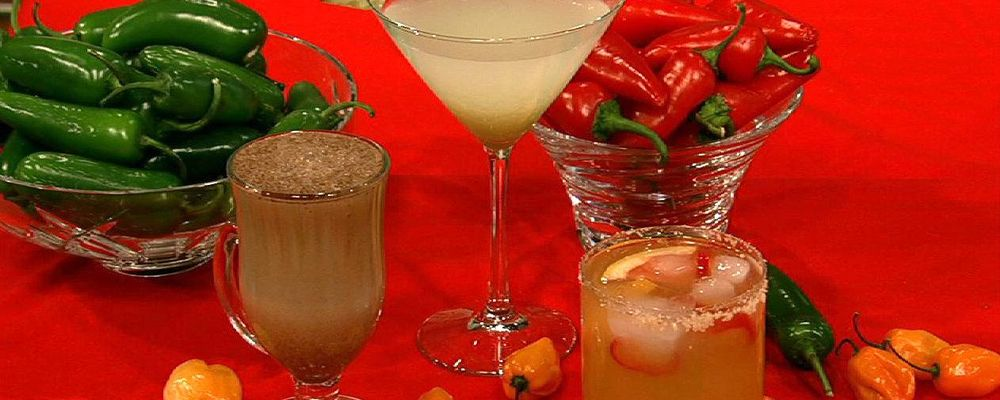 Clinton Kelly\'s Spicy Grapefruit Margarita