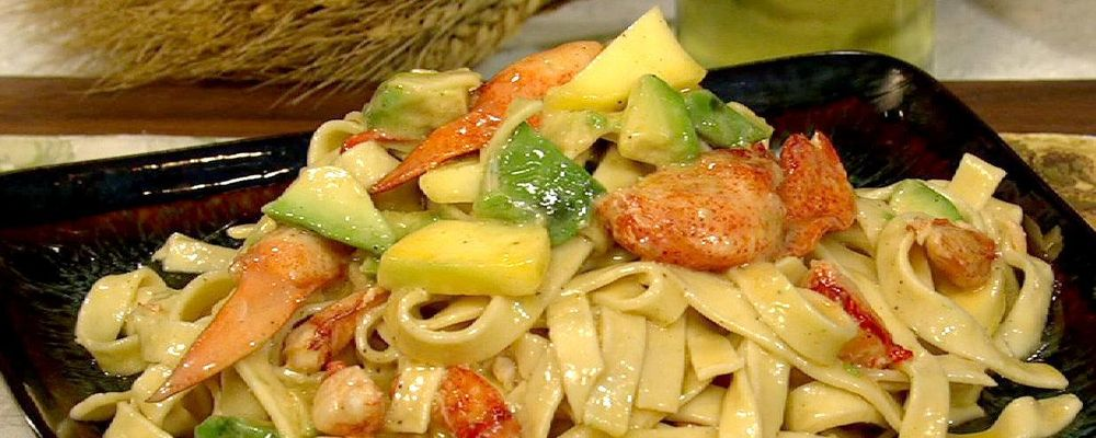 Lobster Pasta with Chardonnay Butter