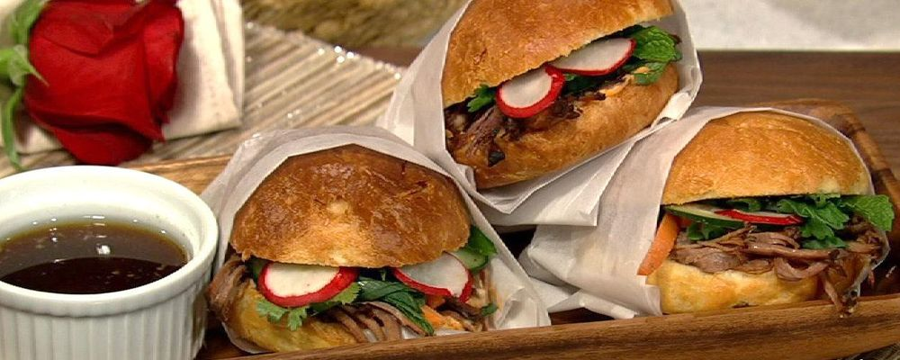 Michael Symon\'s Banh Mi Sliders