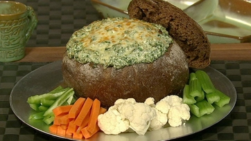 Clinton Kelly\'s Spinach Dip