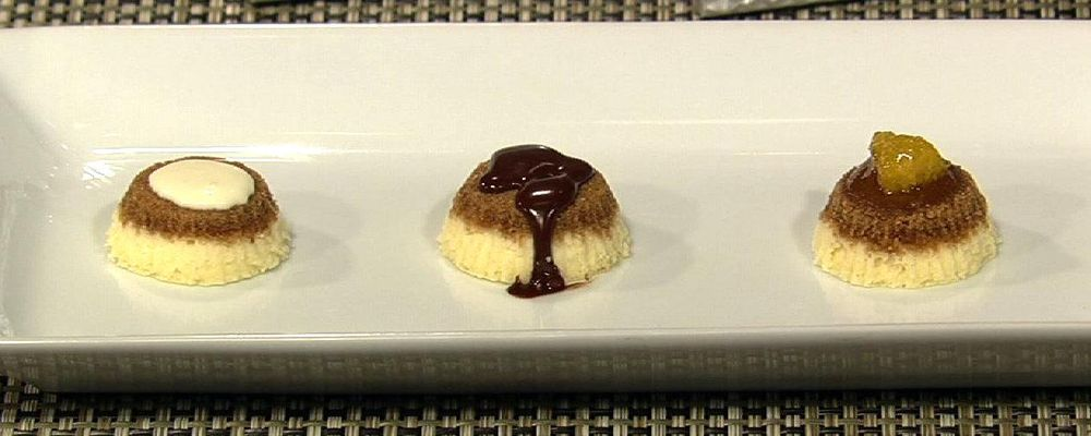 Carla Hall\'s Mini Cheesecakes