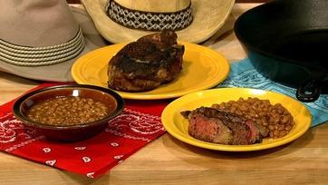 Michael Symon\'s Steak and Beans