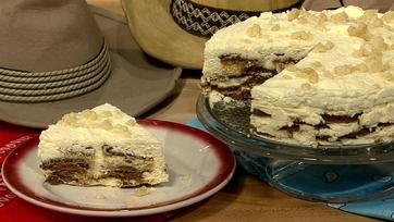 Carla Hall\'s Lemon-Ginger Icebox Cake