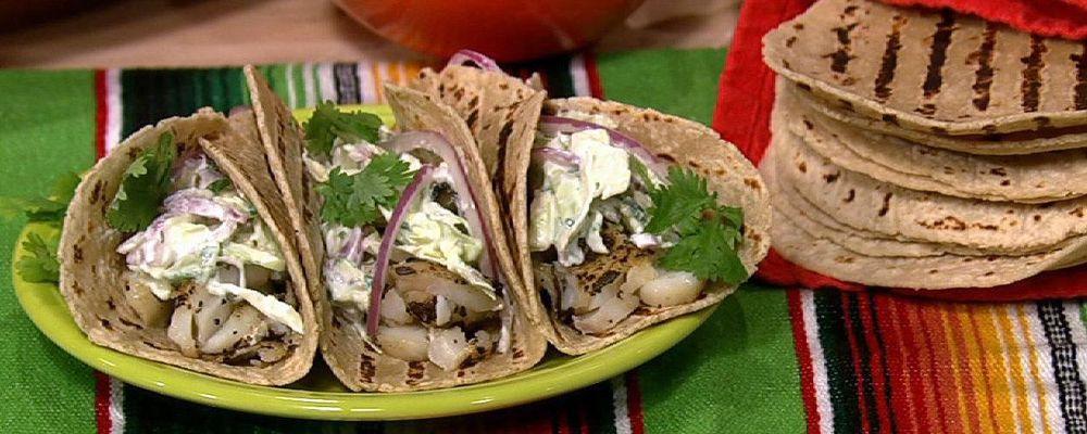 Michael Symon\'s Fish Tacos