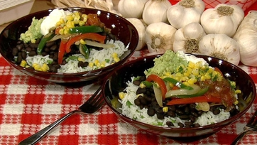 Carla Hall\'s Veggie Burrito Bowl