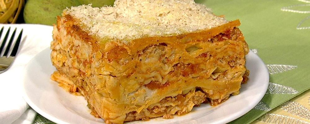 Mario Batali\'s 100 Layer Lasagna
