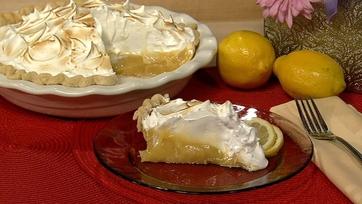 Carla Hall\'s Lemon Meringue Pie