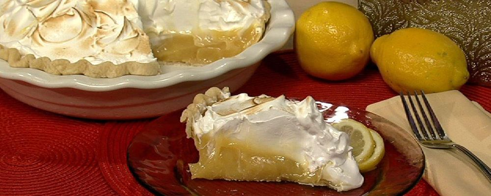 Carla Hall\'s Lemon Meringue Pie