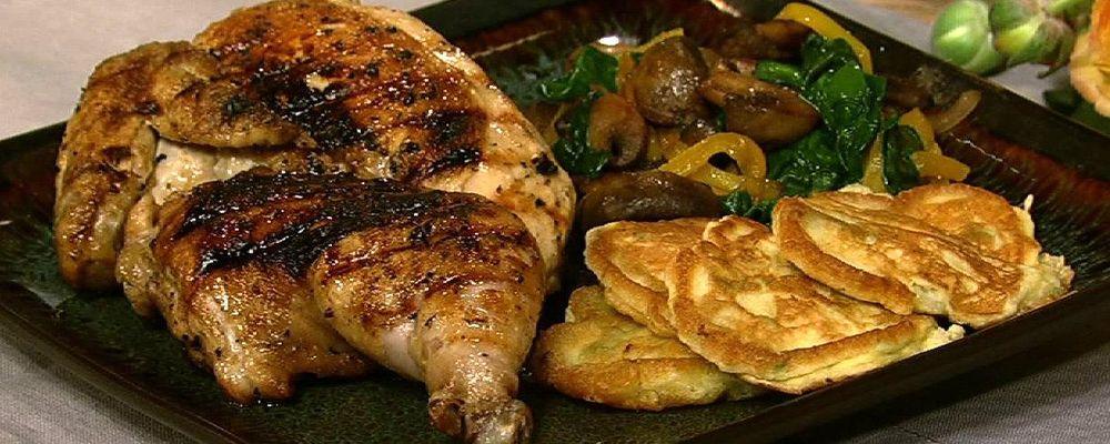 Mario Batali\'s Brick Chicken