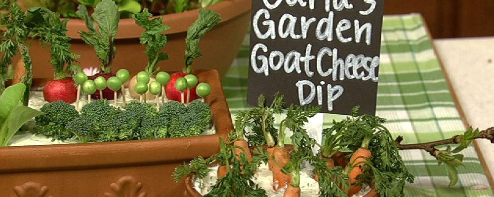 Carla Hall\'s Goat Cheese Dip