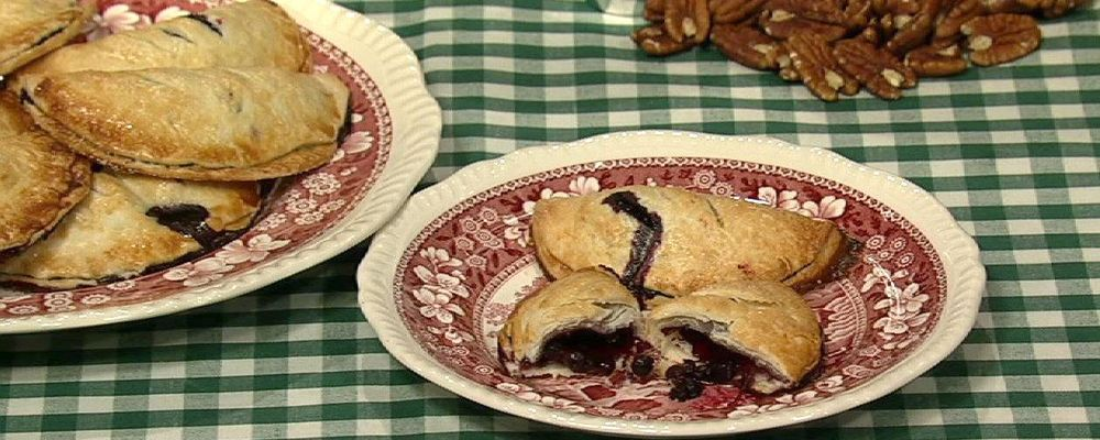 Carla Hall\'s Blueberry Hand Pies