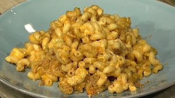 Lighter Cheesy Mac