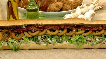 Six-Foot Spicy Sub