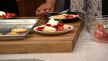 Lightened Strawberry Shortcake