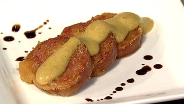 Parmesan Crusted Fried Sausage