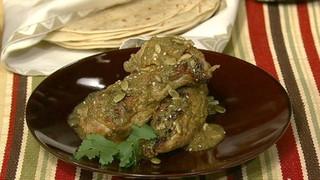 Chicken Mole Verde