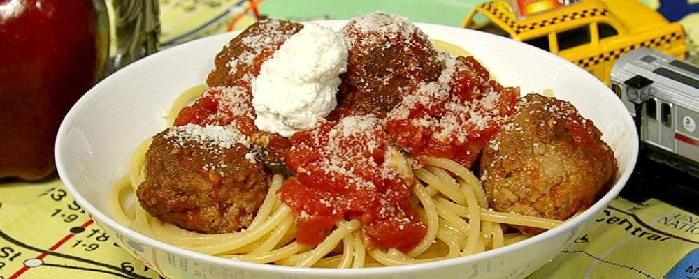 Little Italy Spaghetti and Meatballs