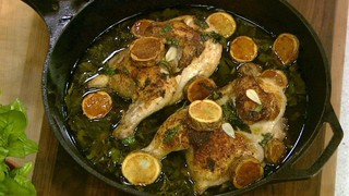 Lemon Chicken with Fried Potatoes