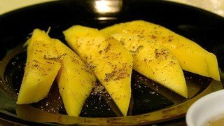 Mango with Chile Lime Salt