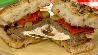 Capresa Sorpresa Burger