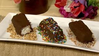 Chocolate Ice Cream Pops