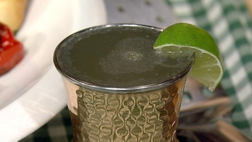 Moscow Mule with Ginger Beer