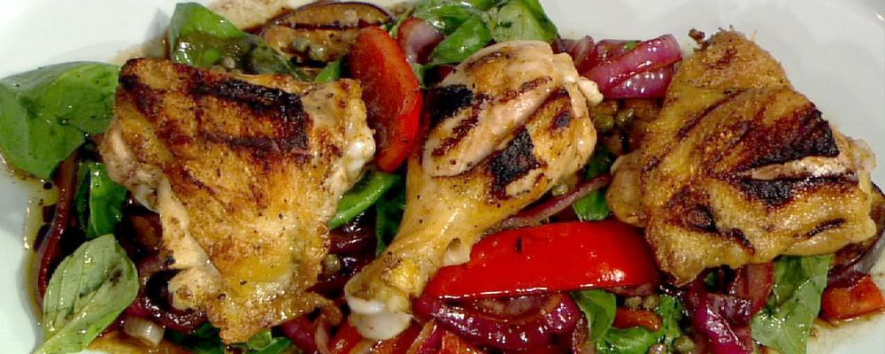 Grilled Chicken with Ratatouille