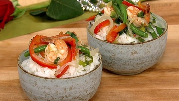 Tracy Fitzpatrick\'s Green Curry Shrimp