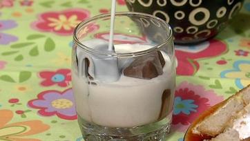 Carla Hall\'s Chocolate Malt Ice Cubes