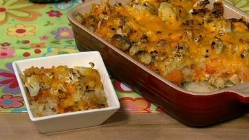 Jane Mekles\' Cheesy Cauliflower Surprise
