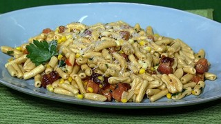 Bacon and Corn Cavatelli