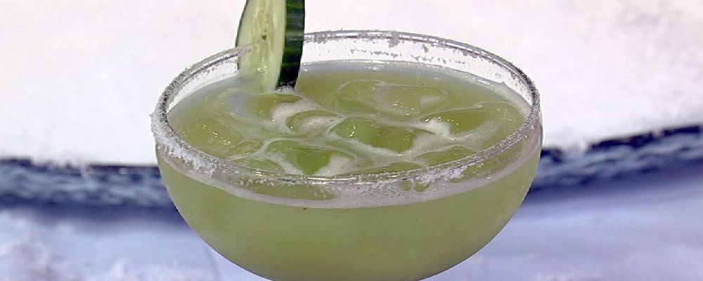 Clinton Kelly\'s Cucumber Honeydew Margarita