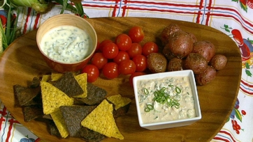 Clinton Kelly\'s Mexican Corn Dip