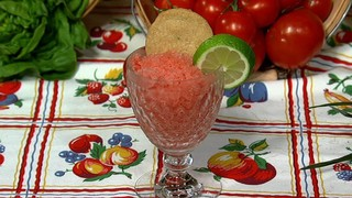 Carla Hall\'s Watermelon Granita