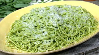 Mario Batali\'s Spaghetti with Green Tomatoes