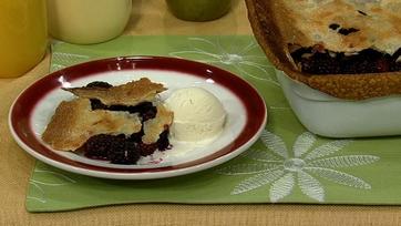 Blackberry Pot Pie