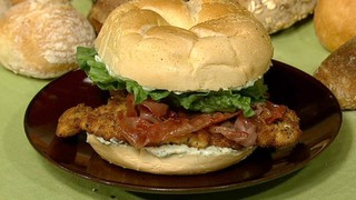 Nadia G.\'s Saltimbocca Chicken Cutlet Sandwich