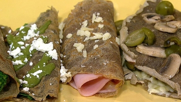 The Chew\'s Buckwheat Crepes