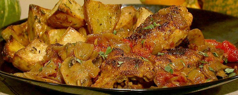 Stanley Tucci\'s Chicken Cacciatore