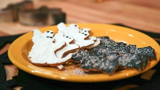 Ghosts and Bats Cookies