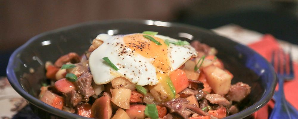 Turkey Sweet Potato Hash