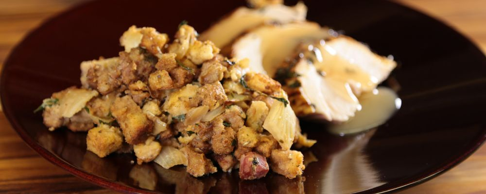 Mama T\'s Thanksgiving Stuffing