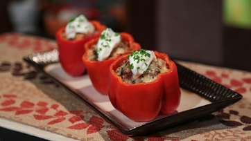 Daphne Oz\'s Stuffing Stuffed Peppers