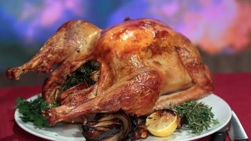 Michael Symon\'s Chorizo Stuffed Turkey