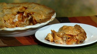 Mario Batali\'s Turkey Tortellini in a Pie