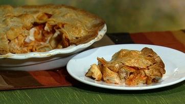 Mario Batali\'s Turkey Tortellini in a Pie