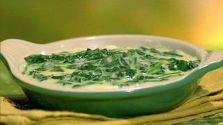 Clinton Kelly\'s Creamed Spinach
